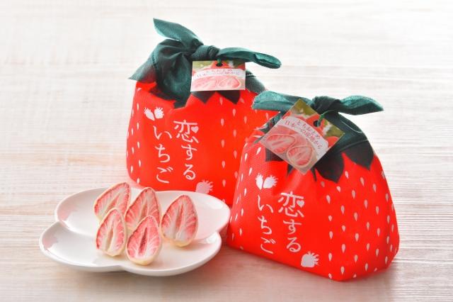 【恋するいちご】赤箱・巾着・初恋糖詰合せ