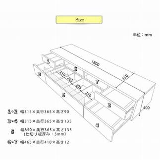 日本の職人の細かな技が魅せる【ネオ180TVボードウォールナット】
