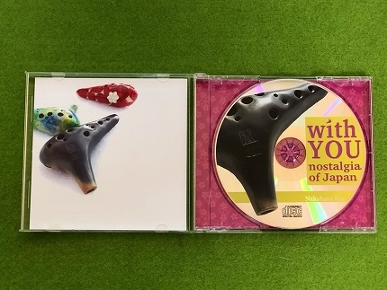 CD『wihYOU~nostalgiaofJapan~』+楽譜集とオカリナキーホルダーのセット