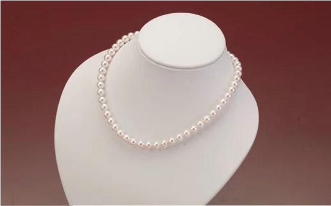 8.5mm珠大粒アコヤ真珠ネックレス