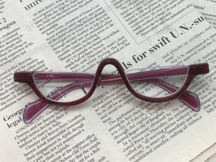 オーダーメイド眼鏡(近用レンズ付き)