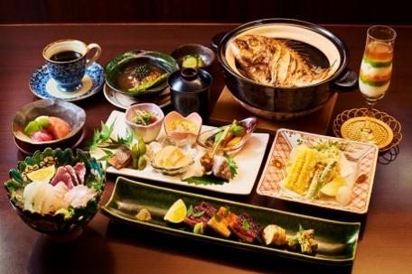 「味彩旬香 菜ばな」旬の食材を五感で楽しめる!ふるさと会席料理コースA チケット(1名様)