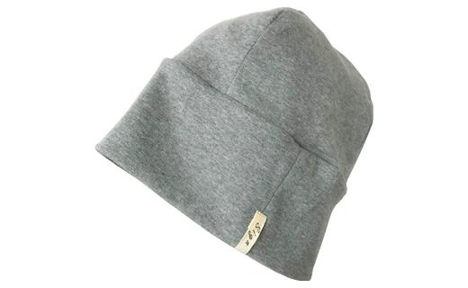 【ブラウン】室内用帽子オーガニックコットン天4方ワッチ