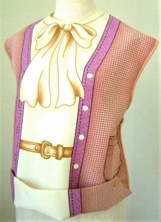 かわさきマイスター考案!服を着たような「おしゃれ着エプロン」