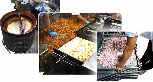 川崎味散歩(かわさき名産品)と豆菓子詰合せ