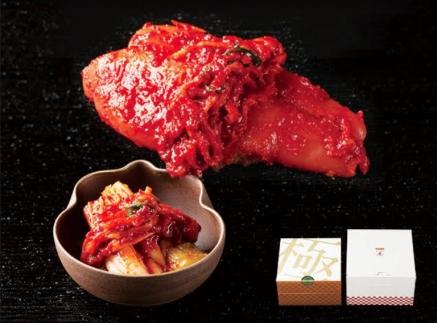 川崎名物「おつけもの慶kei」王道・白菜キムチとたらこキムチセット