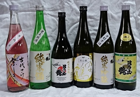 日本酒 日乃出鶴6種類セット