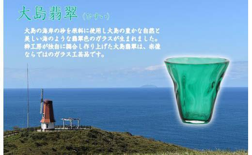 大島翡翠タンブラー NM-12GR