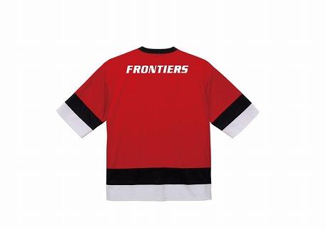 (サイズ:L)富士通フロンティアーズドライホッケーTシャツ