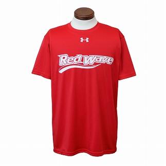 サイズ:(MD) 富士通レッドウェーブドライTシャツ