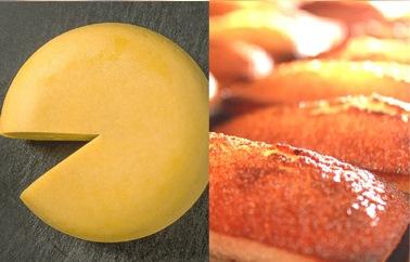 森髙牧場2種セット(牧場バターのフィナンシェ・森髙牧場チーズ)