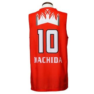 サイズ:(MD) 富士通レッドウェーブレプリカユニフォーム#10:町田瑠唯選手