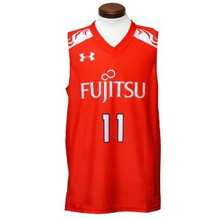サイズ:(LG) 富士通レッドウェーブレプリカユニフォーム#11:篠崎澪選手