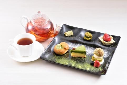 八つ橋庵かけはし 京の和菓子作りペア体験プラン(スイーツ付き)Aコース