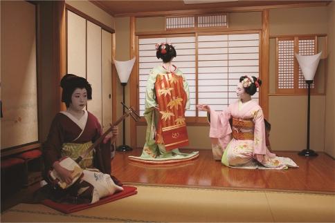 【夕食/2名様】お茶屋花傳 舞妓遊び体験プラン