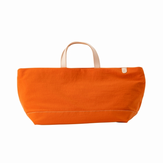 トートバッグ 豊岡鞄 snapvegi ヨコトート(オレンジ)