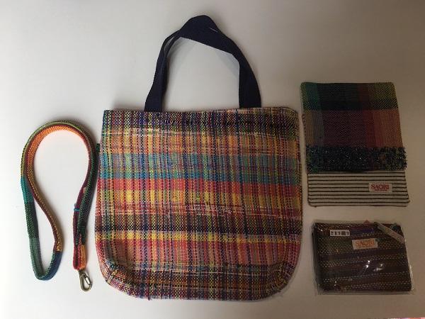 就労支援施設で心を込めて作ったさをり織り商品セット(B)