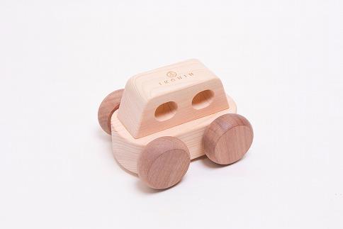檜のおもちゃ IKONIHアイコニー オルゴールカー