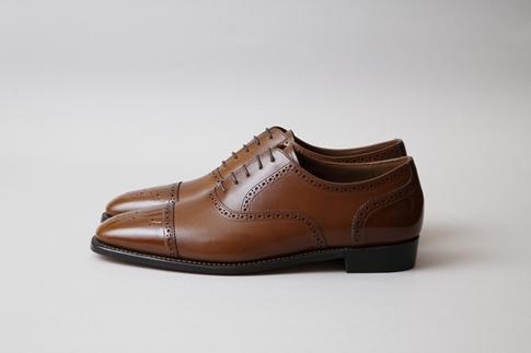 厳選したフレンチカーフを使用した、こだわりの紳士オーダー靴お仕立て券