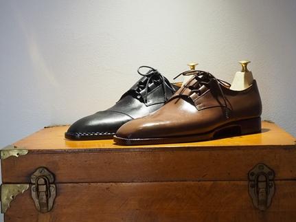 職人の手でひと工程ずつ丁寧にお仕立てする、至高の紳士ビスポーク靴お仕立て券