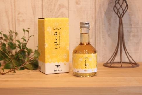 東美濃産100%のそよご蜜で造ったミード酒