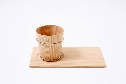 ロックカップ/もてなし盆[晩酌2点セット]