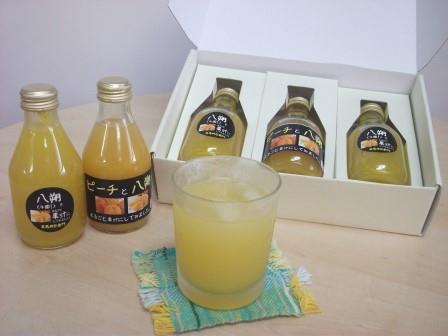 丸ごと果汁!ジュースセット(180cc×3本)
