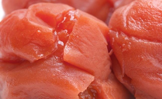 紀州南高梅 《つぶれ梅セット》 しそ漬け梅 塩分3%(1.2キロ)【白浜グルメ市場】