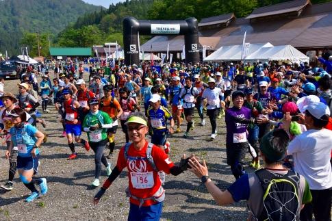 第7回TOGA天空トレイルランエントリー枠ミドルコース(32.8km)