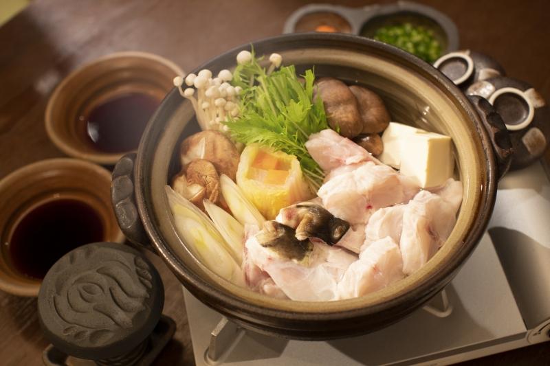 【着日指定可】国産とらふくちり鍋セット(約2人前)