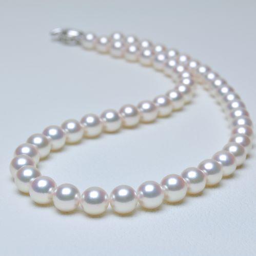 【8.5-9.0mm】アコヤ本真珠ネックレス