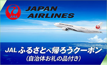【小松市】JALふるさとへ帰ろうクーポン(30,000点分)×こまつカブッキーポイント(4,000pt)