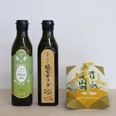 エキストラバージンオリーブオイル&オリーブ金山寺味噌セット
