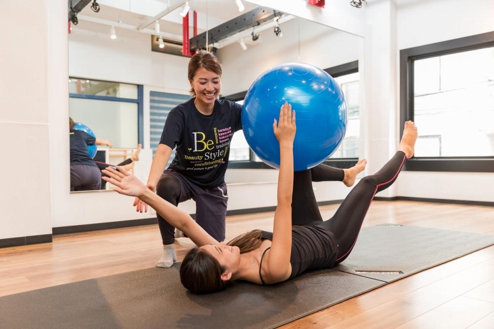 姿勢改善に特化したパーソナルトレーニング