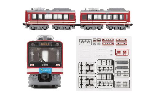 Bトレインショーティー 2000形 サン・モリッツ号 復刻塗装