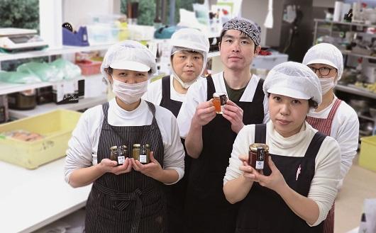 地元産の素材を使った無添加のジャム&梅干し・らっきょう・椎茸佃煮のセット