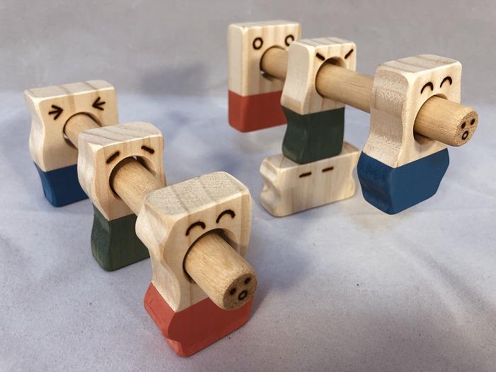 【ギフト用】木のおもちゃ「コロポコ積木パズル(スペシャル)」
