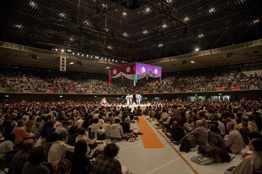 2020年4月14日開催「大相撲川崎場所」1階イスB席