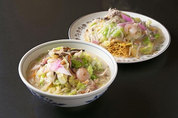ひふみ《具材付》長崎冷凍ちゃんぽん(3食)・皿うどん(2食)