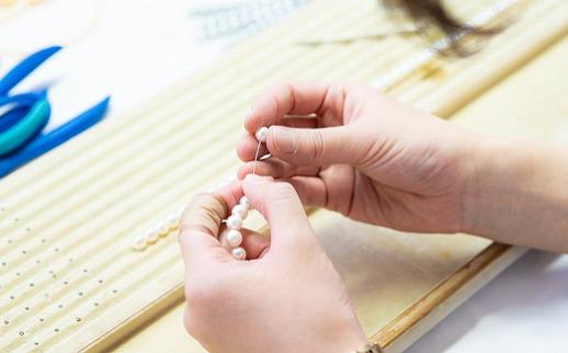 あこや真珠パールペンダント/K18ホワイトゴールド(約7.5~8mm珠)