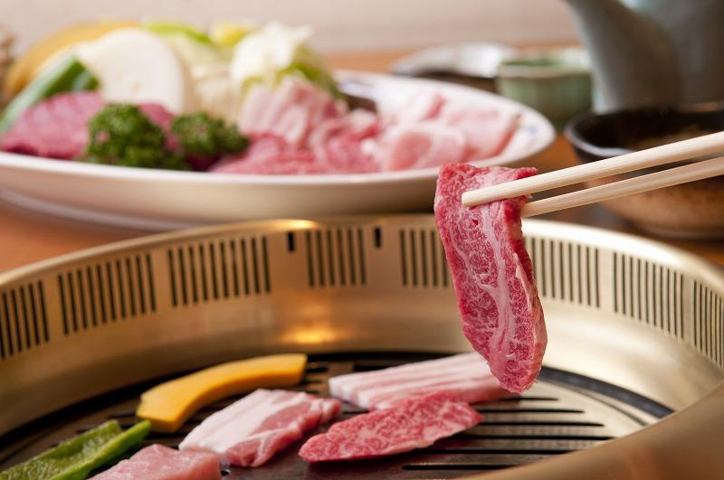 [てらおかの能登牛]特選能登牛霜降りカルビ焼肉用(450g)
