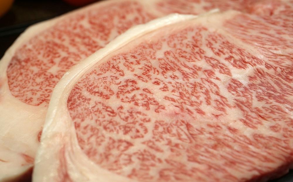 【消費拡大で農家支援】奥州牛サーロインステーキ(200g)(冷蔵発送・期間限定)
