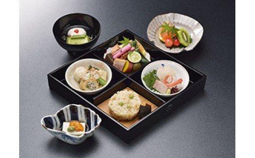 京料理ペアランチ食事券