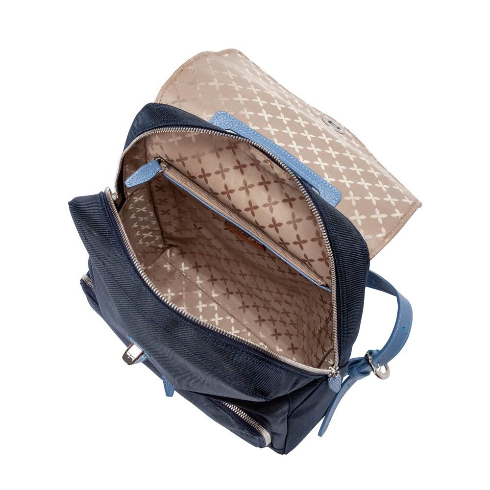豊岡鞄7801キャリアリュック(ネイビー×スカイ)