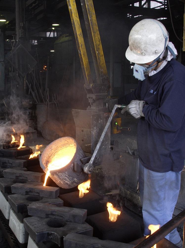 (南部鉄器)すき焼鍋 ほほえみ