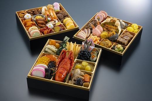 <2020年12月31日お届け>茶玻瑠おせち和洋中三段重
