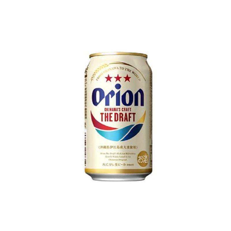 【リニューアル】オリオン ザ・ドラフトビール 350ml缶 1ケース(24缶)