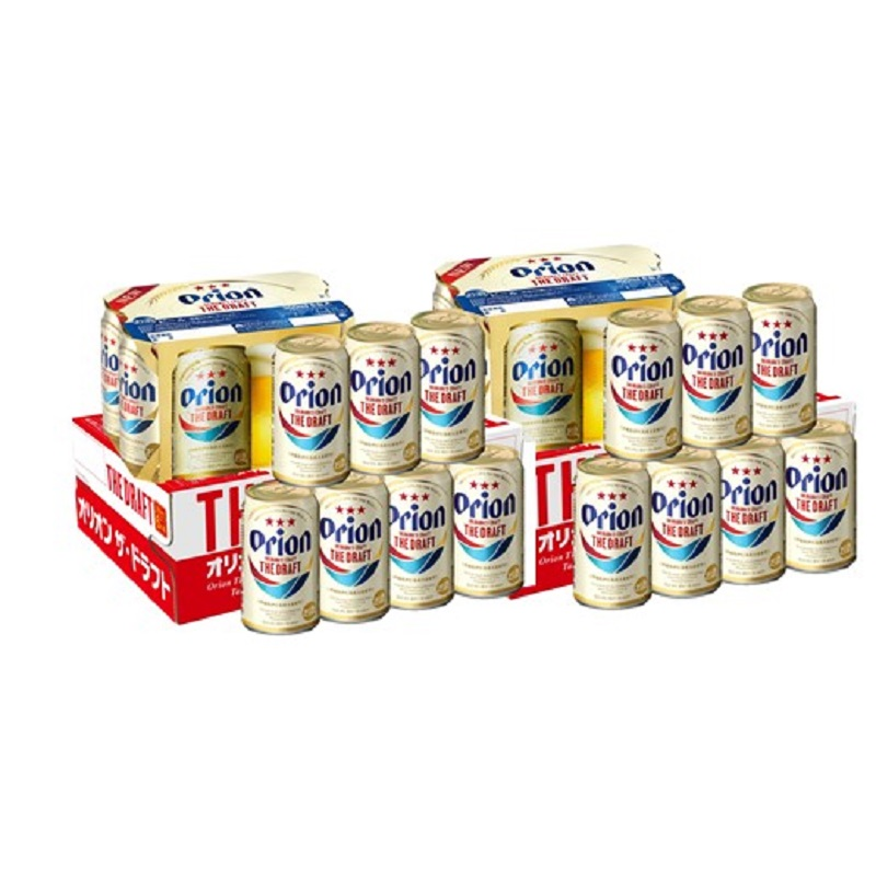 【リニューアル】オリオン ザ・ドラフトビール 350ml缶 2ケース(24缶×2)
