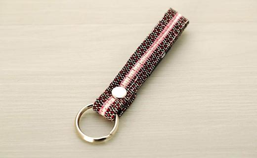 手織りのキーホルダー