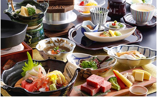 兵衛向陽閣 ペアご宿泊券(神戸牛特選会席料理をお部屋食で)